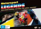 Motorsport Legends (DVD, 2016, 3-Disc Set)