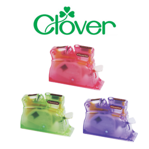 Clover-Premium-Desk-Needle-Threader-Easy-To-Use-Assorted-Colours-Available