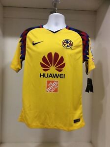 8510efbaf Image is loading America-Aguilas-New-Nike-2018-3rd-Soccer-Jersey-