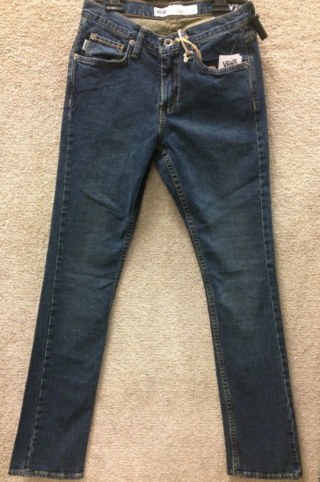 Vans Jeans Pants  V76 SKINNY 2YEAR-VNOOOK4DKMD-  color 591