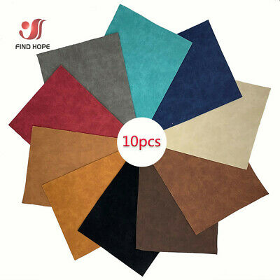 1x Suede Faux Synthetic PU Leather DIY For Garments Handbag Bows Material Crafts