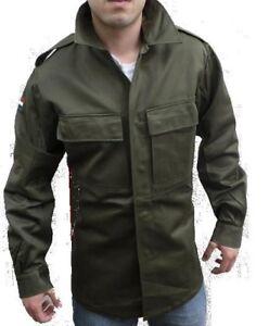 New Mens Military Field Army Combat Jacket BDU Coat Vintage Surplus Large