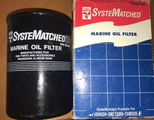 Genuine OMC Stern Drive Cobra Inboard etc Marine OIL FILTER Part Number 502900