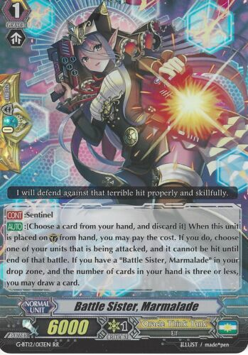 G-BT12//013EN RR CARDFIGHT VANGUARD CARD MARMALADE BATTLE SISTER