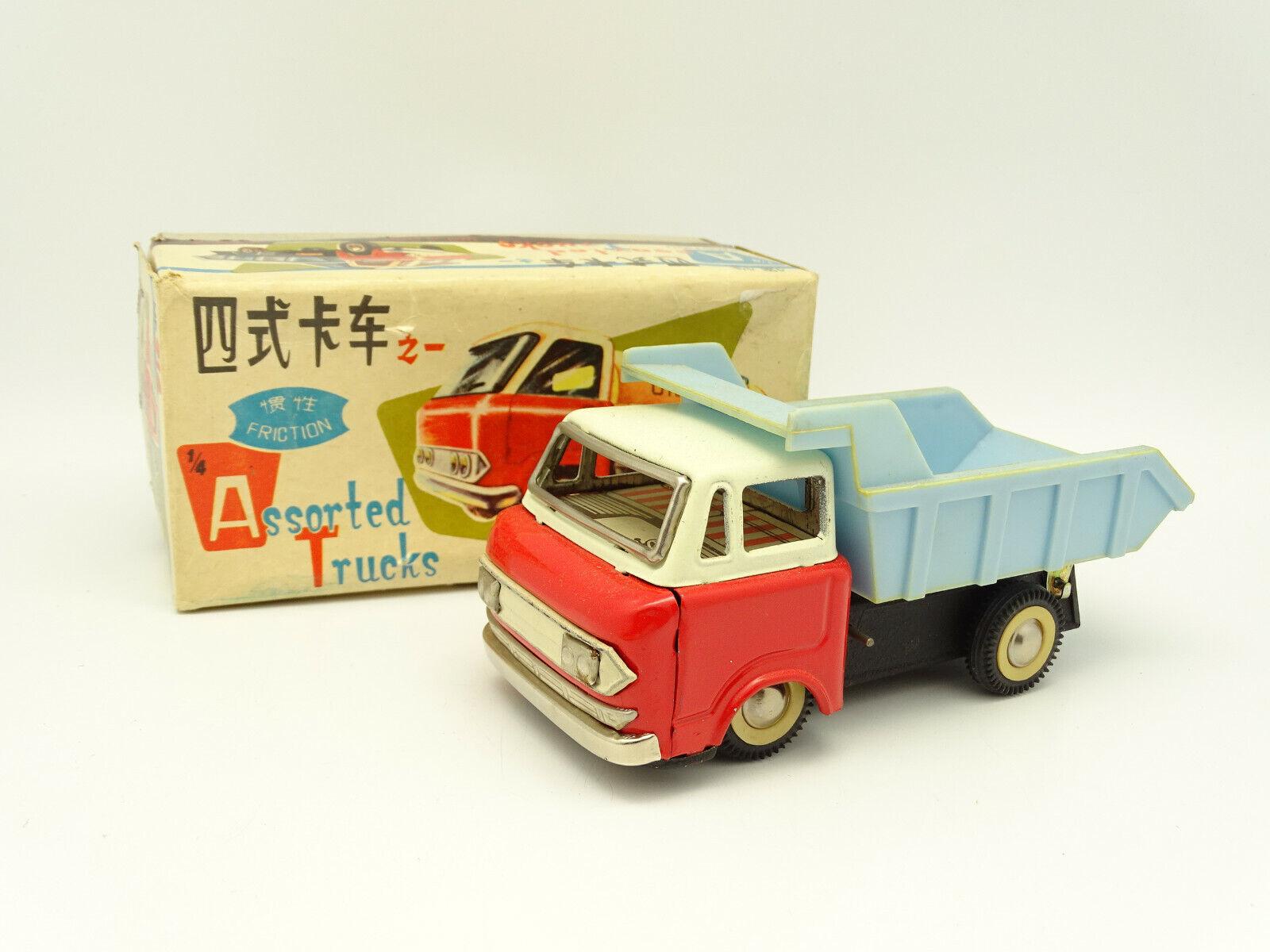 Tin Giocattolo Cina Metallo 1 43 - Camion Camion Camion Cassone Mf 214 9932d0