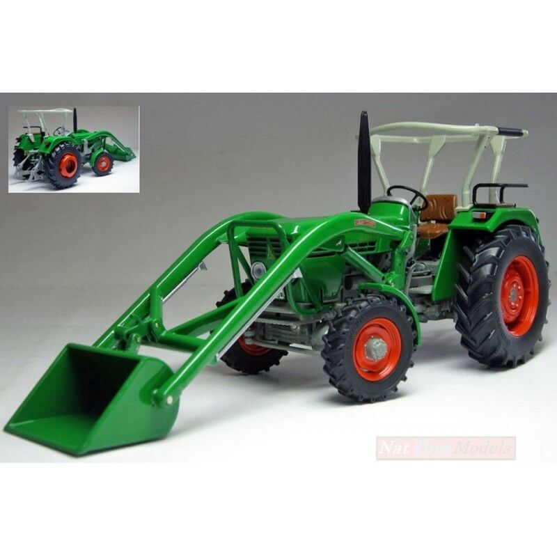WEISE-TOYS WEISE-TOYS WEISE-TOYS WEIS1050 DEUTZ D 45 06 À W/FRONTLADER 1972-1974 1:32 DIE CAST MODEL | Exquise (in) De Fabrication  92cdef