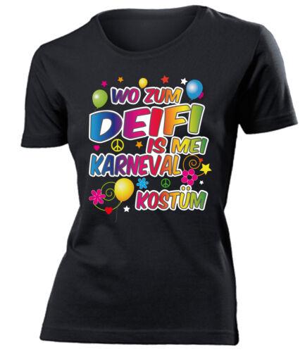 Costume Carnaval-où deifi is Mei Costume Carnaval T-shirt femme S-XXL