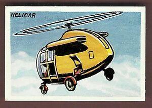 Calvert-Dan-Dare-Series-Trade-Type-card-21-Helicar-Excellent-Condition