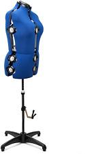 Adjustable Mannequin Dress Form Plus Size Torso Female Tailor Seamstress Sewing