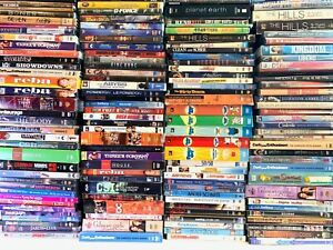 200-DVD-LOT-WHOLESALE-ASSORTED-TV-Series-Comedies-Kid-Thrillers-Horror-RESELL