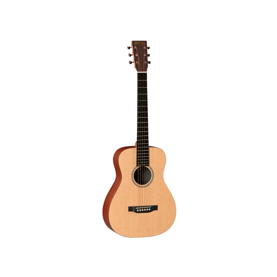 Martin LXME Little Martin Travel Acoustic-Electric Guitar w  Gigbag, New
