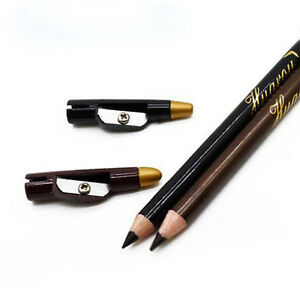 Crayon-Eye-liner-Brun-ou-Noir-avec-Capuchon-Aiguiseur