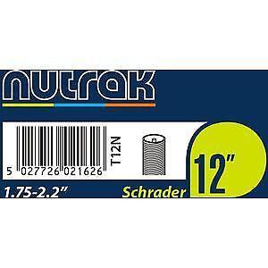 Nutrak 12 x 1.75-2.125 inch Schrader inner tube