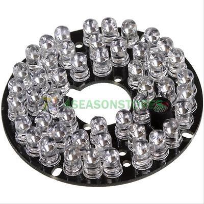 48 LED IR Infrared Illuminator Board Plate for CCTV Security Camera Night Vision