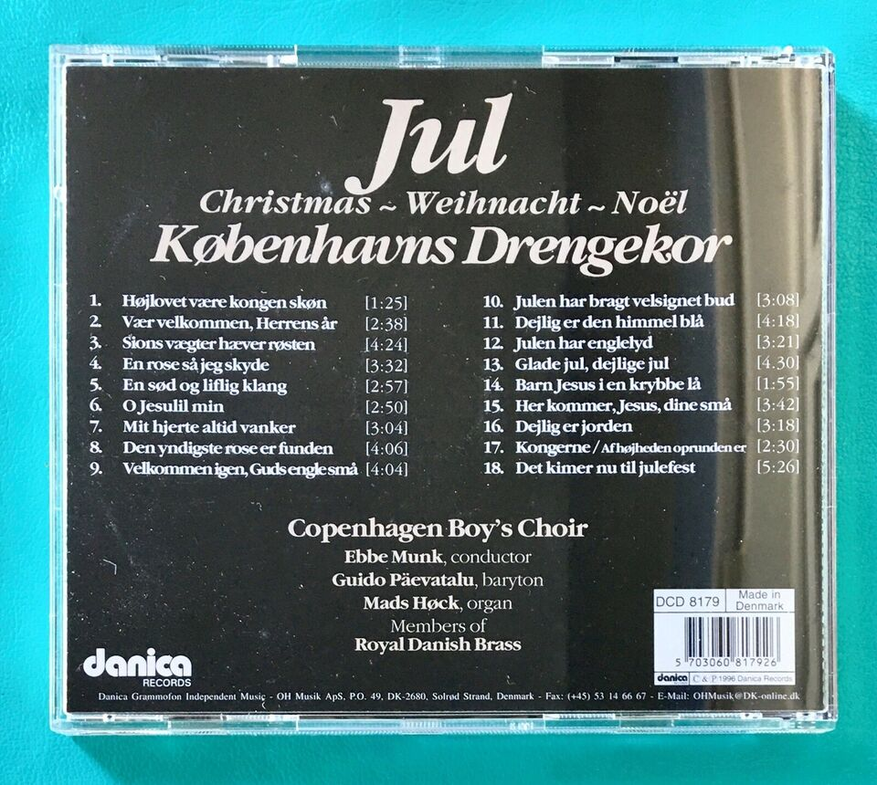 Københavns Drengekor: Jul med Københavns Drengekor,