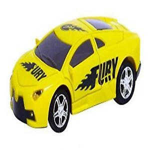 RC Pocket Racers Remote Controlled Micro Race Cars Vehicle Fury Yellow 2  AAA Bat