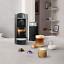 thumbnail 5 - Nespresso Vertuo Plus Deluxe Titan Flat Top Coffee Machine & Aeroccino3 Frother