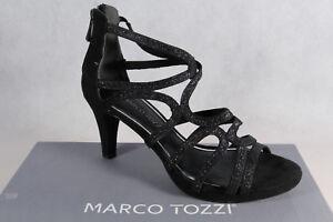 Marco-Tozzi-Damen-Sandalen-Sandaletten-Pumps-schwarz-NEU