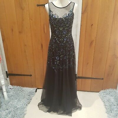 2019 Mode Monsoon Estella Embelished Maxi Sizes 8 10 12 14 16 No Offers