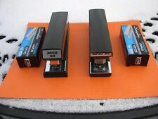 Vintage Acco 30 Stapler Amp Acco 40 Stapler Total Of 2 Plus 2 Boxes Of Staples