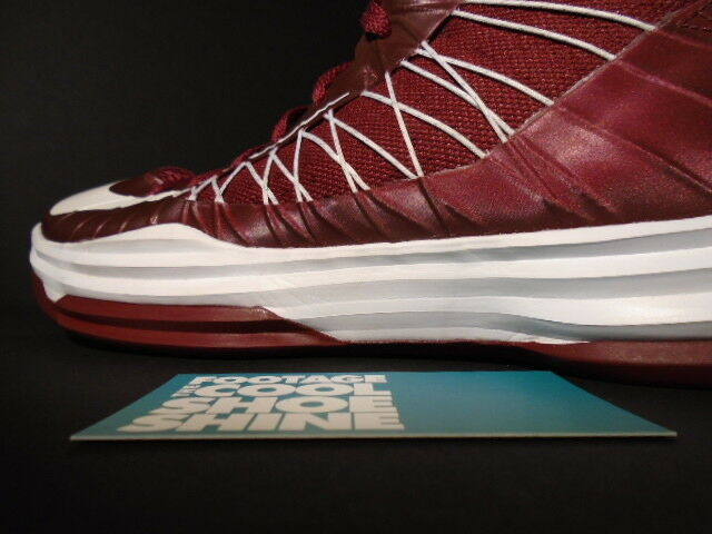 2012 Nike HYPERDUNK TB TEAM RED WHITE MAROON BURGUNDY 524882-600 524882-600 524882-600 12 18ae00