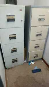Chubb Fire Safe Filing Cabinet 4 Drawer Data Cash Documents Office With Key