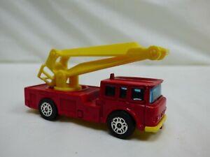 VINTAGE-CORGI-Whizzwheels-Simon-SNORKEL-FIRE-ENGINE-RED-DIECAST-GIOCATTOLO-MODELLINO-camion