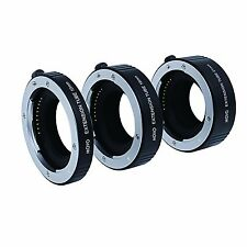 Movo Photo AF Macro Extension Tube Set for Sony E-mount (nex) Mirrorless Camera System With 10mm 16mm & 21mm Tubes (metal Mount)