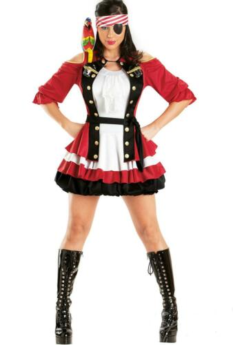 Cap/'n Shooter Humorous and Stylish Adult Pirate Costume 6810