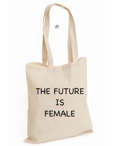 FUTURE, BAG The Future Is Feminist Female Power COTTON TOTE INSTA Fashion Gift
