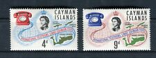 Cayman Island 1966 Inaugurazione linea telefonica internazionale MNH