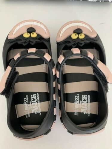 Mini Melissa Ultragirl Alice in Wonderland Jelly Sandals Shoes Toddler Sz 5-8