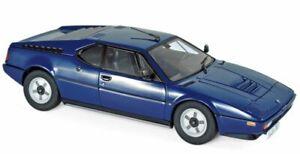 BMW M1 - 1980 - blue - Norev 1:18