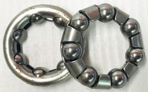 1 pair Bicycle Retainer Bearing #19 2 Bearings
