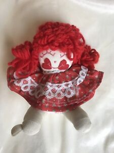 63a8ee9a4ccc44f Vintage 1970's Small Baby Rag Doll w/ Red Dress, Kids, Pre-Owned | eBay