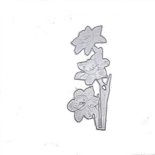 Flower Cut Metal Dies Card Making Photo Album Decorative Stencil Scrapbooking