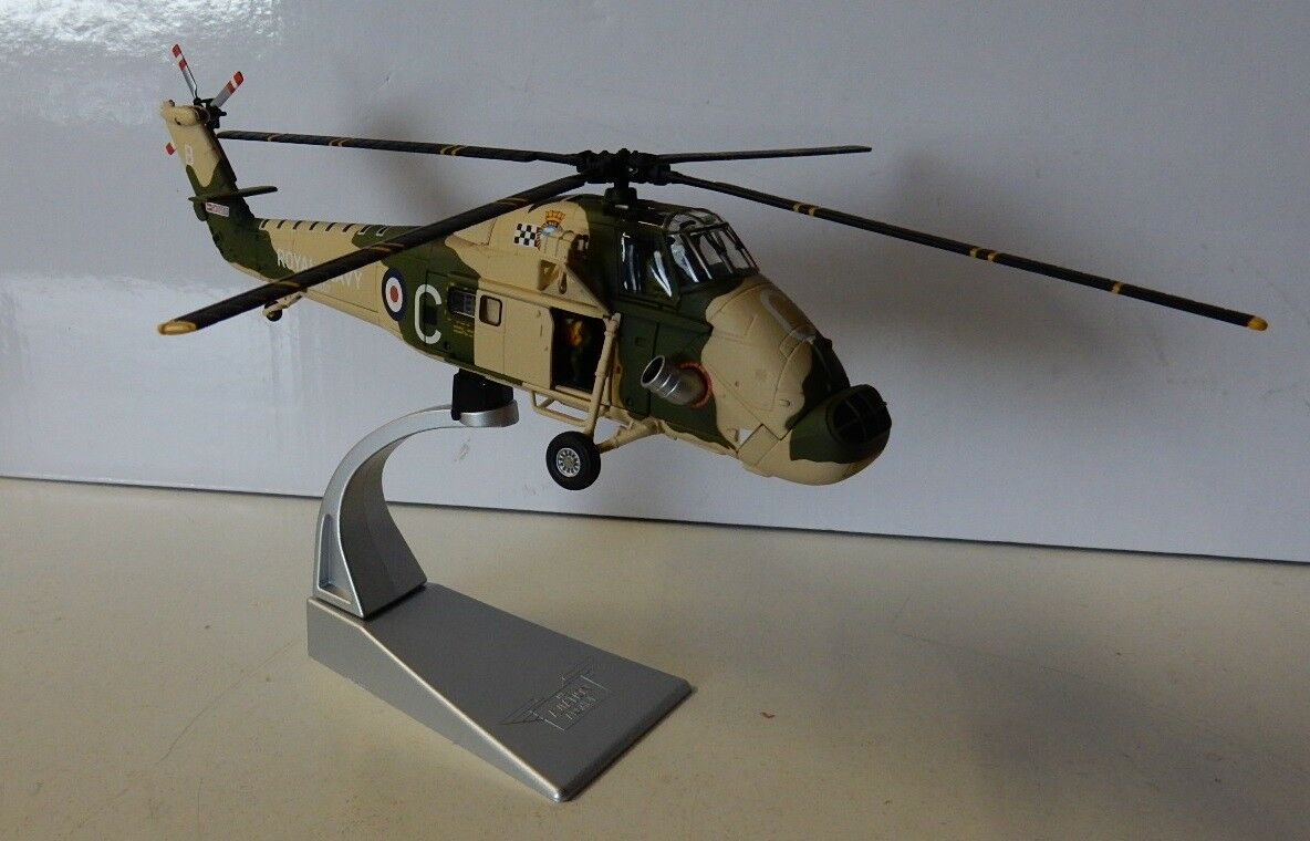 CORGI wetsland Wessex hu-5 Royal Navy in metallo 1/72 con certificato