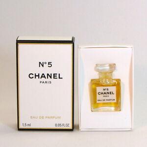 Chanel No 5 Eau de parfum 1,5 ml. 0.05 fl.oz. mini micro perfume new in box