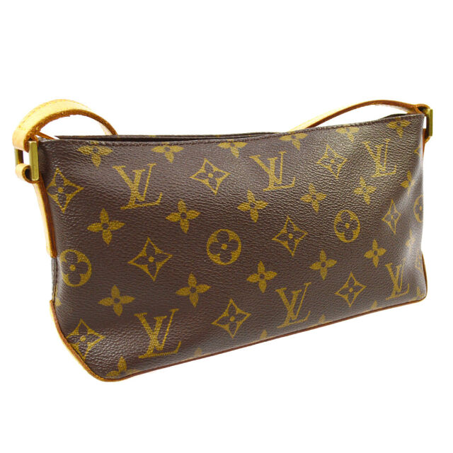 LOUIS VUITTON TROTTEUR CROSS BODY SHOULDER BAG MONOGRAM M51240 SL0032 AK43786