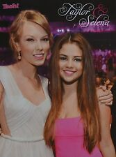 SELENA GOMEZ & TAYLOR SWIFT - A4 Poster (ca. 21 x 28 cm) - Clippings Sammlung