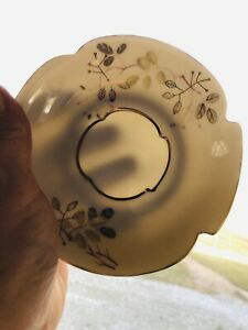 Beautiful-Guilded-Footed-Tea-Cup-And-Saucer-Bone-China-Mid-Century-Motif