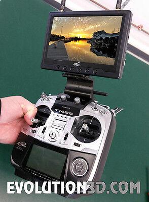 Futaba T14SG FPV LCD Monitor Bracket Mount - Transmitter Radio Mounting Support