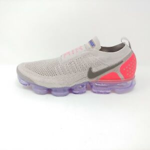 6ad6a8095570 Nike Air Vapormax Flyknit Moc 2 Moon Particle Solar Red Sneaker FK ...