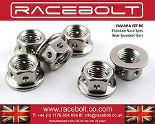Yamaha R6 Rear Sprocket Nut Kit - Racebolt Titanium Race Spec
