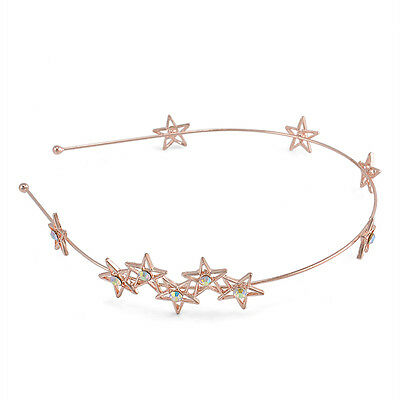 fashion Flower Rhinestone Head Chain Jewelry Headband Head Piece Hair Band women