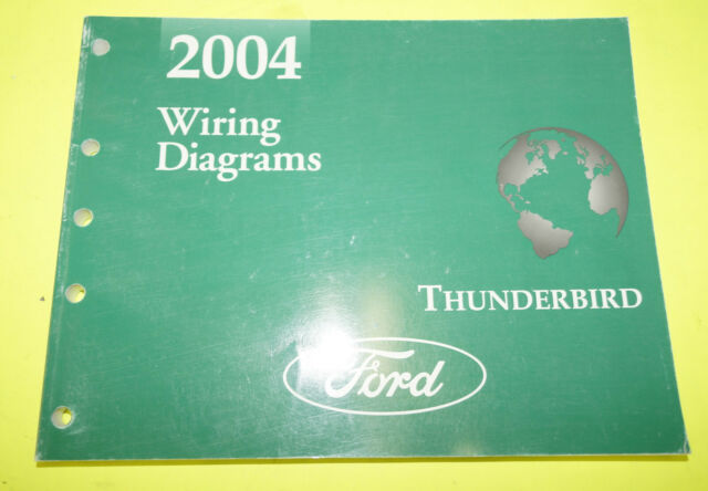 2004 Ford Lincoln Ls Oem Evtm Factory Wiring Diagrams Service Manual Book