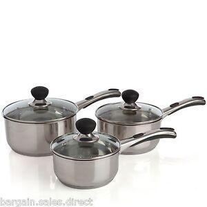 Sabichi-3-pieces-Induction-base-16-cm-18-cm-20-cm-sauce-pan-Set-Inc-couvercle-en-verre