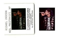 Michael Jackson BAD WORLD TOUR Press SLIDE original 35mm PROMO Photo negative 09