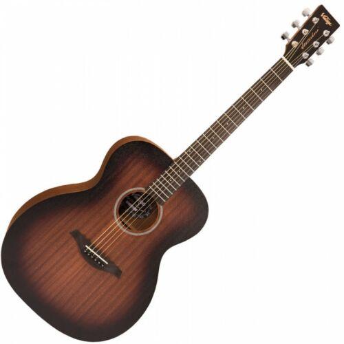 Vintage Paul Brett Signature Statesboro/' Acoustic Orchestra Guitar Whisky Sour