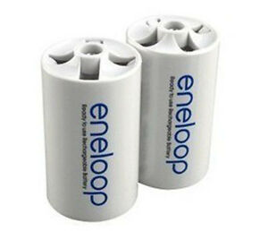 Image Is Loading New Brand 2pcs Battery Adaptor Converter AA R6